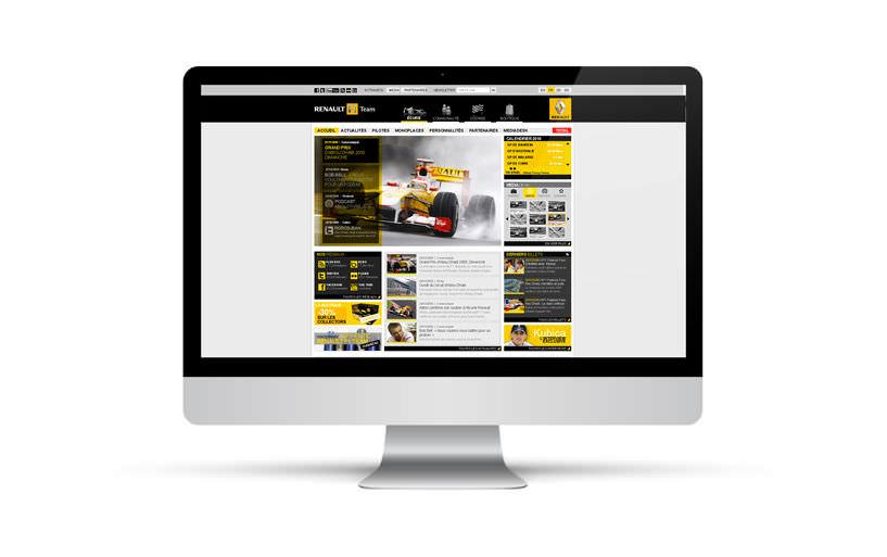 intégration - Renault F1 2010 - 2010