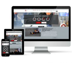 webdesign, responsive, intégration - Bahrain International Circuit - 2016