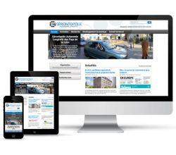 développement, intégration, responsive, webdesign, wireframes, wordpress - Gérontopôle des Pays de la Loire - 2013