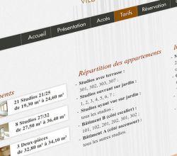 développement, intégration, responsive, webdesign, wireframes, wordpress - Villa Louis Pasteur - 2013