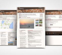 webdesign, intégration - SafariVO - 2009